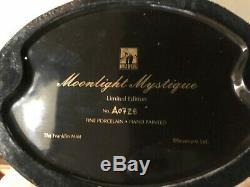 Franklin Mint ERTE Art Deco Moonlight Mystique Woman Porcelain Figurine#0728