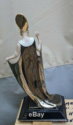 Franklin Mint Erte Isis Vintage LE Porcelain Figurine Figure
