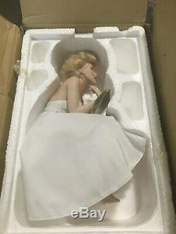 Franklin Mint Extremely Rare Marilyn Monroe Love Marilyn Porcelain Doll Nib