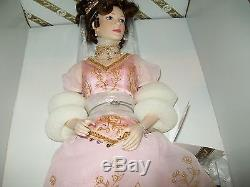 Franklin Mint FABERGE Doll Princess Sofia Porcelain withFABERGE EGG +COA NRFB NIB