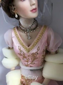 Franklin Mint FABERGE SOPHIA Imperial Debutante 18 PORCELAIN DOLL NRFB + COA