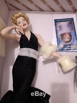 Franklin Mint FINAL Porcelain Marilyn Monroe ETERNALLY MARILYN NRFB NEW