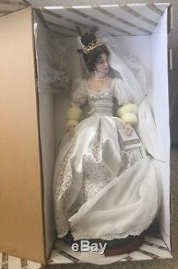 Franklin Mint Faberge Natalia Spring Bride Porcelain Doll MIB 17
