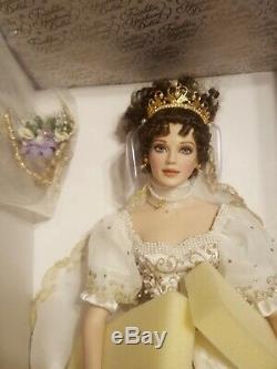 Franklin Mint Faberge Natalia Spring Bride Porcelain Russian Doll