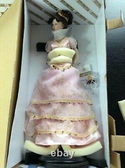 Franklin Mint Fabergé Princess Sofia Imperial Debutante 18 Porcelain Doll