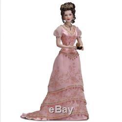 Franklin Mint Faberge Princess Sofia Imperial Debutante porcelain doll NIB/COA