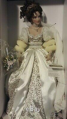 Franklin Mint Faberge Spring Bride Doll Natalia Porcelain NIB