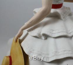 Franklin Mint GWTW Scarlett O'Hara & Rhett Butler Porcelain Figurines, 1987-89