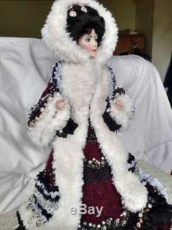 Franklin Mint Gibson Girl Boudoir Doll 23 inches high (approx)