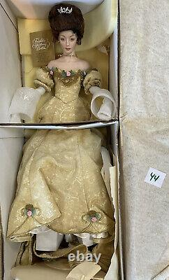 Franklin Mint Gibson Girl Presentation To The Queen Porcelain Doll Rare