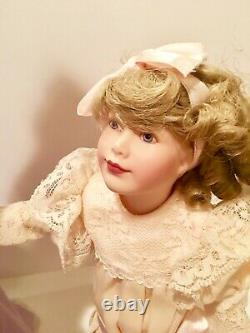 Franklin Mint Gibson Girl Promenade Porcelain Mother & Daughter Doll & COA