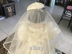 Franklin Mint Gone With The Wind Scarlett OHara Porcelain Bride Doll WithCOA