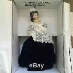 Franklin Mint Gone With the Wind Scarlett's Portrait Porcelain Doll withCOA NRFB