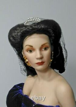Franklin Mint Gone with the Wind 19 Scarlett O'Hara Porcelain Heirloom Doll
