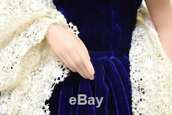 Franklin Mint Gone with the Wind Scarlett's Portrait Blue Dress Heirloom Doll