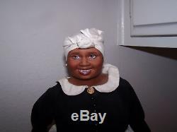 Franklin Mint Gwtw Mammy Porcelain Doll