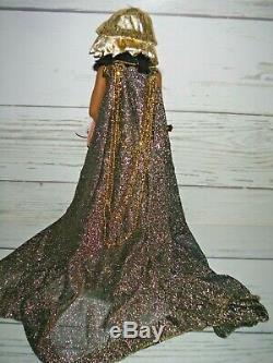 Franklin Mint Heirloom CLEOPATRA Porcelain Egyptian Doll Maryse Nicole 24K GOLD