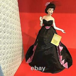 Franklin Mint Heirloom Doll Hillary The Manhattan Heiress 1991 Rare Porcelain
