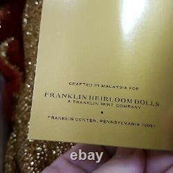 Franklin Mint Heirloom Doll Marilyn Monroe Porcelain Doll In Original Box 19in