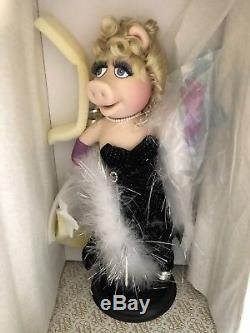 Franklin Mint Heirloom Muppets Miss Piggy Millenium Porcelain Doll NIB