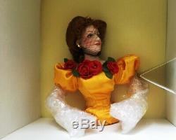 Franklin Mint Heirloom NIB 19 Porcelain Doll Belle Watling Gone With the Wind