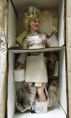 Franklin Mint Heirloom NIB 22 Porcelain Doll, Marilyn Monroe No Business