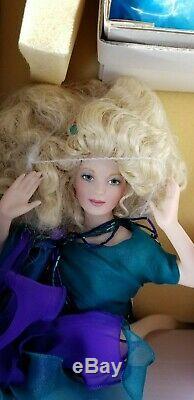 Franklin Mint Heirloom Porcelain Paulina, Princess of the Pearl Mermaid