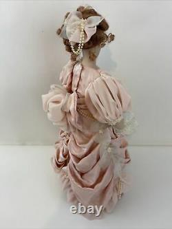Franklin Mint Heirloom The Gibson Girl, Mother & Child Porcelain Doll 16