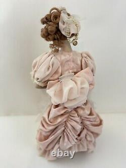 Franklin Mint Heirloom The Gibson Girl, Mother & Child Porcelain Doll 16