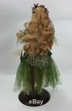 Franklin Mint Heirloom Titania Fairy Queen Midsummer's Night Porcelain Doll 18