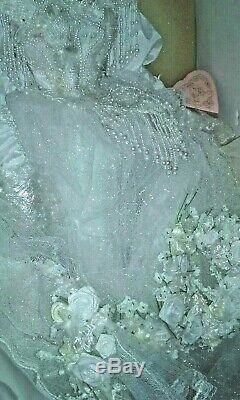 Franklin Mint Heirloom Vanessa Bride Doll by Maryse Nicole NIB