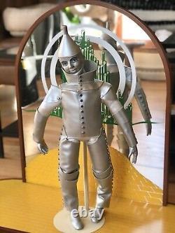 Franklin Mint Heirloom Wizard of Oz Porcelain Doll Collection & Display Set