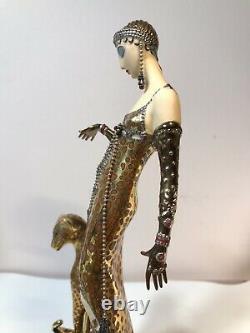Franklin Mint House Of Erte Porcelain Figurine Art Deco