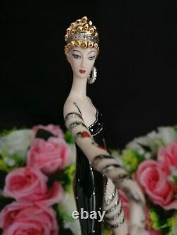 Franklin Mint House of Erté Figurine''Pearls and Rubies'