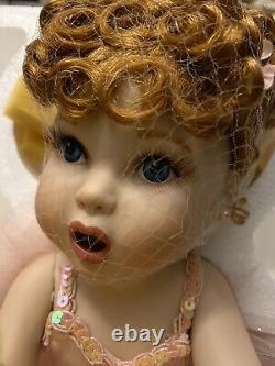Franklin Mint I Love Lucy Porcelain Baby Doll Ballet Ballerina withCOA