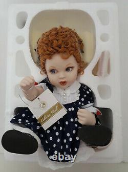 Franklin Mint I love Lucy Porcelain Portrait Baby Doll NIB