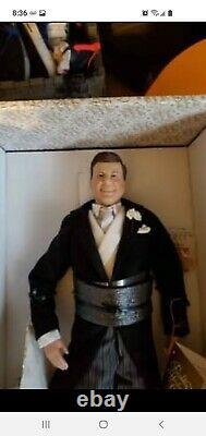 Franklin Mint JFK John. F. Kennedy Porcelain Rare Doll. 18 never been displayed