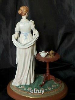 Franklin Mint LE Porcelain Figurine Jane Austen's ELINOR Sense & Sensibility