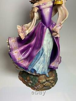 Franklin Mint Limited Edition Porcelain Catherine Wuthering Heights Figure