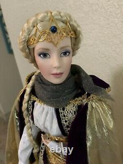 Franklin Mint Lord Of The Rings Eowyn Porcelain Doll
