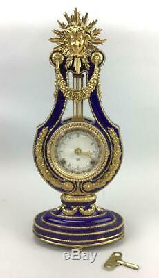 Franklin Mint Marie Antoinette Porcelain Clock