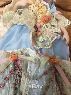 Franklin Mint Marie Antoinette RARE Collectible Porcelain Doll