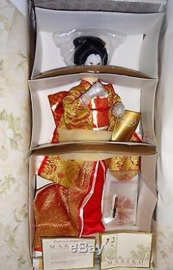 Franklin Mint Mariko The Japanese Bride Porcelain Doll RARE NIB Shipper COA