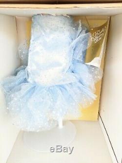 Franklin Mint Marilyn Monroe Glittery Blue Dress Porcelain Doll