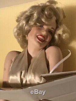 Franklin Mint Marilyn Monroe Porcelain Doll