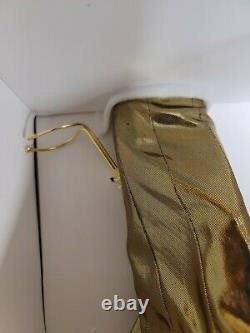 Franklin Mint Marilyn Monroe Porcelain Doll ALWAYS MARILYN Gold Dress NIB RARE