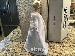 Franklin Mint Marilyn Monroe Porcelain Doll All About Eve With Box NICE