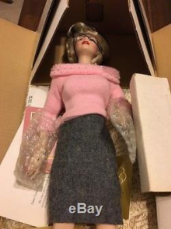 Franklin Mint Marilyn Monroe Porcelain Doll Sweater Girl