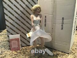 Franklin Mint Marilyn Monroe Porcelain Doll The Seven Year Itch NICE