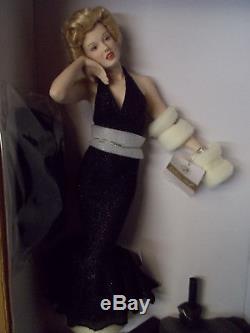 Franklin Mint Marilyn Monroe Porcelain Eternally Marilyn NIB